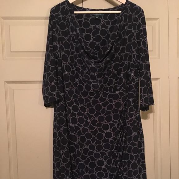 98a16e27743 Lauren Ralph Lauren Dresses   Skirts - ⬇  36 Lauren Ralph Lauren Navy Jersey  Dress